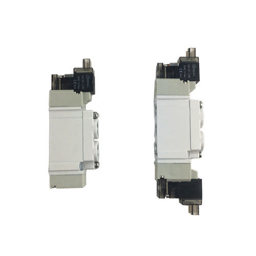 SY5120-01 Pneumatic Solenoid Valves 220VAC Control Valve With LED Light Medium Pressure