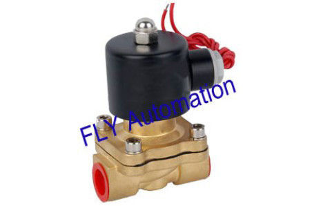 24VDC,110VAC 2W160-15 Round Coil 2 Way Brass Water Solenoid Valve With Customized