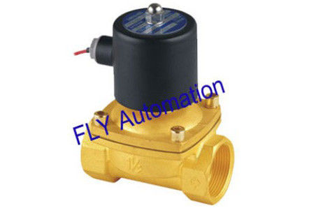 "2W400-40 1.5"" Threaded 2 Way Water Solenoid Valves Operated Directly Without Pressure"